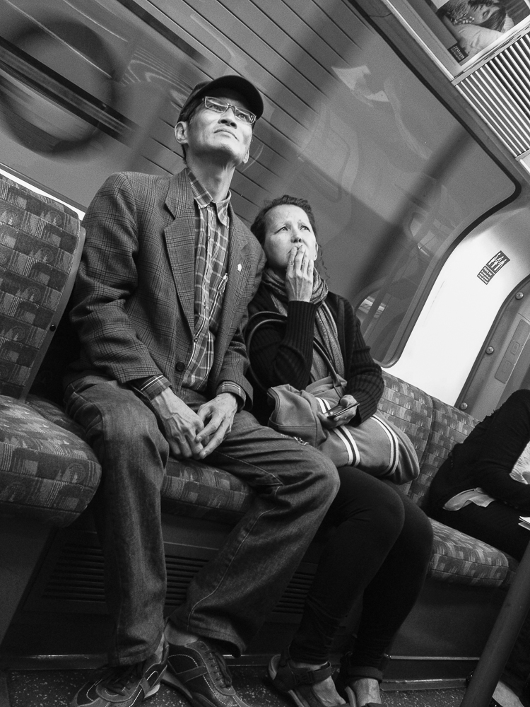An old chinese couple