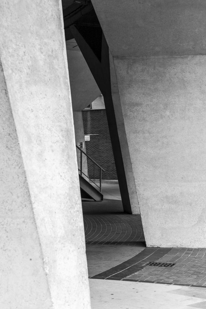 building and geometrical shape