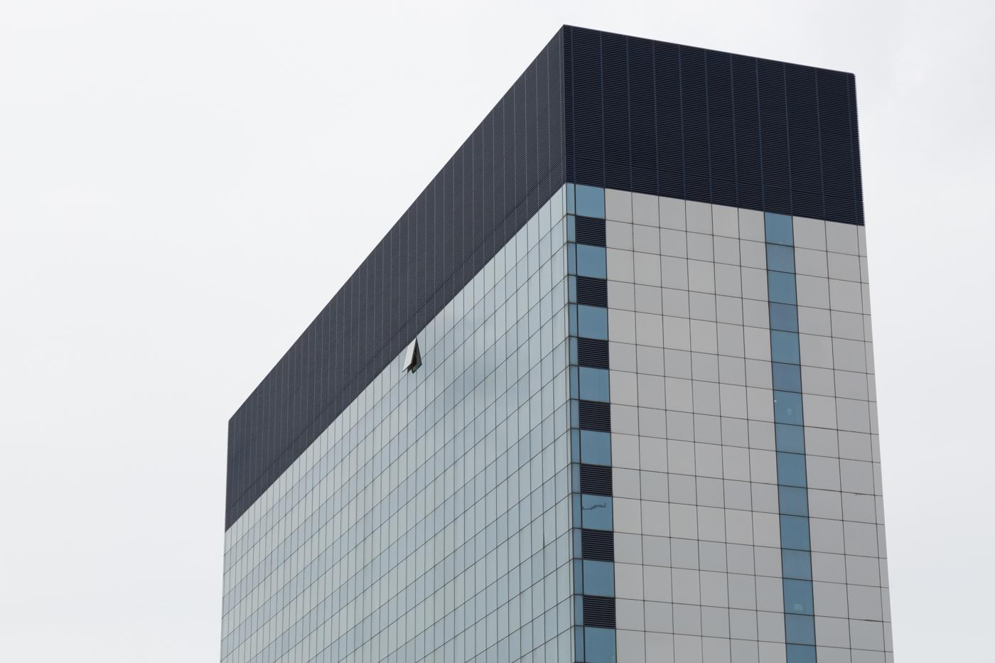 London shape glass building